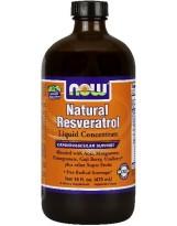 NOW Foods Natural Resveratrol 473 ml