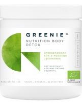 GREENIE Body Detox BIO sproszkowany sok z młodego jęczmienia 75 g