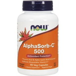 NOW Foods AlphaSorb-C 500mg 90 kaps.