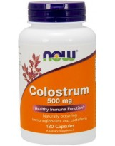 NOW Foods Colostrum 500 mg 120 kaps.