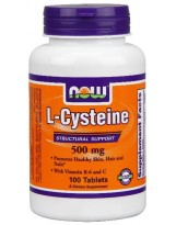 NOW Foods L-Cysteina 500 mg 100 tabl.