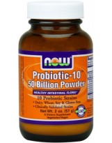 NOW Foods Probiotic-10 50 Bilion Powder 57g