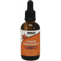 NOW Foods Witamina D 3 Liquid 60 ml