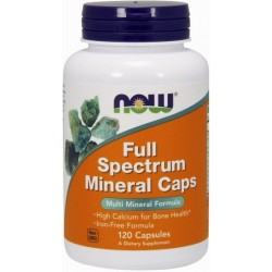 NOW Foods Full Spectrum Minerals - 120 tabl.