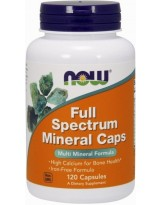 NOW Foods Full Spectrum Minerals Caps - 120 kaps.