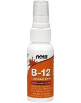 NOW Foods B-12 Spray 1000 mcg Liposomal Spray 60 ml