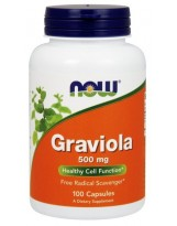 NOW Foods Graviola 500 mg 100 kaps.