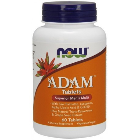 NOW Foods Adam 60 tabl.