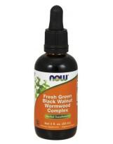 NOW Foods Fresh Green Black Walnut Wormwood Complex 60 ml