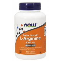 NOW FOODS L-Arginine 1000 mg 120 tabl.