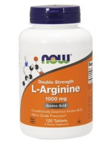 NOW FOODS L-Arginine 1000mg 120 tabl.