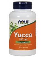 NOW Foods Yucca 500 mg - 100 kaps.