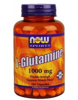 NOW Foods Glutamina 1000 mg 120 kaps.
