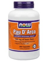 NOW Foods Pau D' Arco 500 mg - 250 kaps.