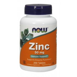 NOW Foods Zinc 250 tablets.