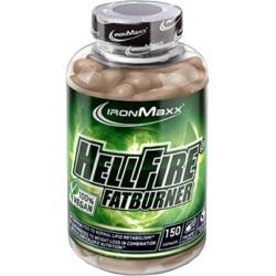IRONMAXX Hellfire Fatburner VEGAN 150 kaps.