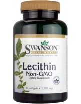 SWANSON Lecytyna 1200 mg 90 kaps.