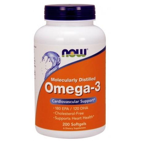 NOW Foods Omega 3 1000 mg 200 kaps.