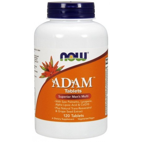 NOW Foods Adam 120 tabl.