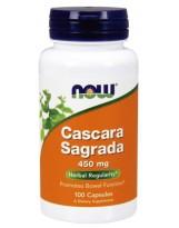 NOW Foods Cascara Sagrada 450 mg 100 kaps.