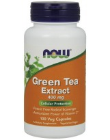 NOW FOODS Green Tea Extract 400mg 100 kap.