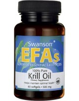 SWANSON Krill Oil 60 kaps.