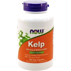 NOW FOODS Kelp 325 mcg 250 veg kaps.