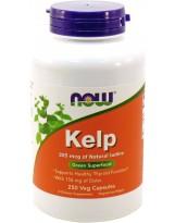 NOW FOODS Kelp 325 mcg 250 veg kaps.
