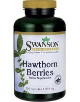 SWANSON Hawthorn Berries (owoce głogu) 250 kaps.