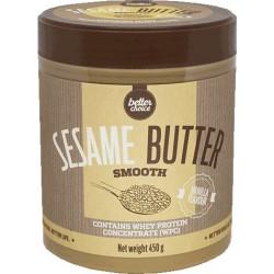 TREC BETTER CHOICE Sesame butter smooth 450 g wanilia