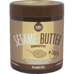 TREC BETTER CHOICE Sesame butter smooth 450 g czekolada