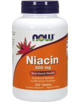 NOW FOODS Niacin 500 mg 250 tabl.