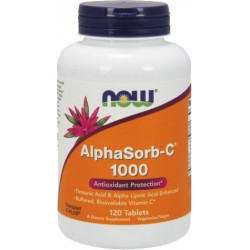 NOW FOODS AlphaSorb-C 1000mg 120 tab.