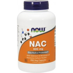 NOW FOODS NAC 600mg 250 caps
