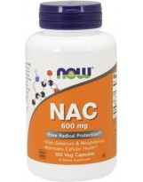 NOW Foods NAC N-Acetylocysteina 600 mg 100 kaps.