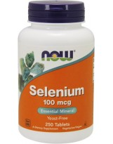 NOW FOODS Selen 100 mcg 250 tab.