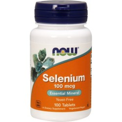 NOW FOODS Selen 100 mcg 100 tab.