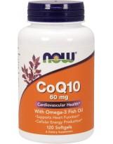 NF Koenzym Q10 60 mg + Omega 3 120 gels.