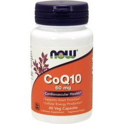 NOW FOODS Koenzym Q10 60 mg 60 kaps.