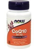 NOW FOODS Koenzym Q10 60 mg 60 kaps.