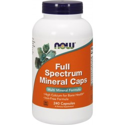 NOW Foods Full Spectrum Minerals - 240 tablets