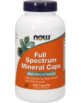 NOW Foods Full Spectrum Minerals Caps - 240 kaps.