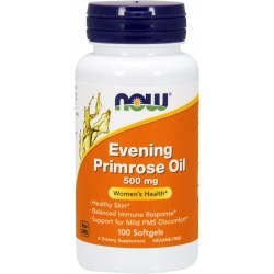 NOW Foods Evening Primrose Oil 500 mg -100 Softgels