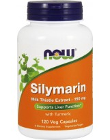 NOW Foods Silymarin Milk Thistle Extract 150 mg 120 kaps.