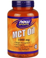 NOW FOODS MCT Oil 1000 mg 150 kaps.