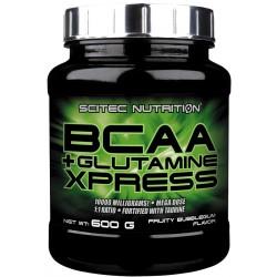 SCITEC BCAA Xpress + Glutamine 600g