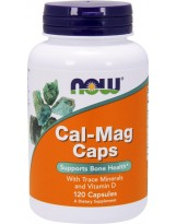 NOW FOODS Cal-Mag 120 kaps.