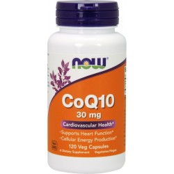NOW FOODS Koenzym Q10 30 mg 120 kaps.