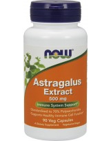NOW FOODS Astragalus Extract 500mg 90 vcaps.