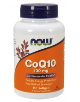 NOW FOODS Koenzym Q10 100mg + Vit. E 150 gels